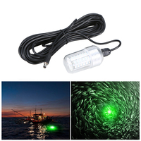 12V 30W 90 LEDs Underwater Night Fishing Light Fish Finder Light with Cord Submersible LED Lamp Bait Squid Fish Attracting Light