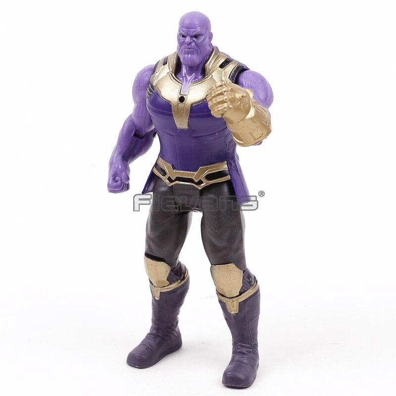 Marvel Avengers Infinity Guerra Thanos Azione PVC Figure Bambini BoysToy Regalo