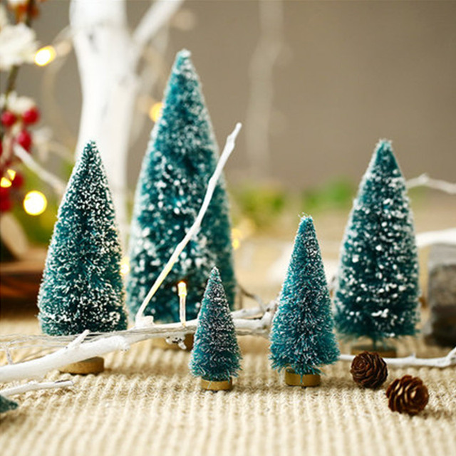 Christmas tree model Home Decoration accessories sand table making ...