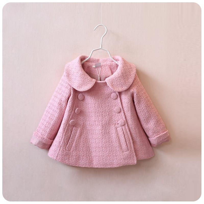 Aliexpress.com : Buy girls wool winter coats red pink jacket 2015