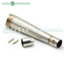motorcycle accessories muffler Stainless Steel  exhaust pipe  For Yamaha Tmax 500 530 XJR 400 1300