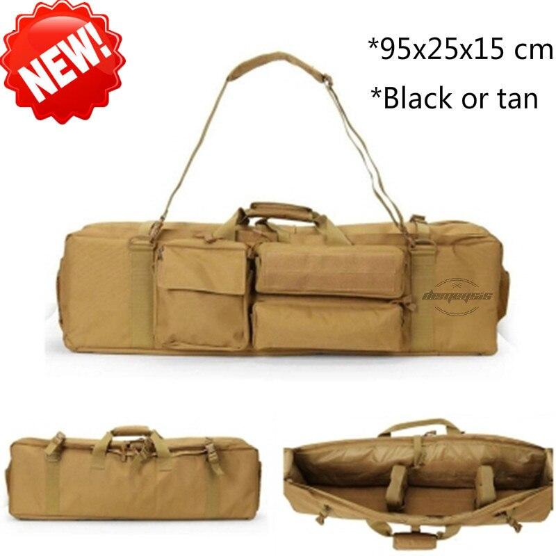 Durable Rifle Tactical Gun Bag Range Paded Soft Gun Case 95CM Hunting Airsoft Square Gun Bag Protection Case Rifle Backpack