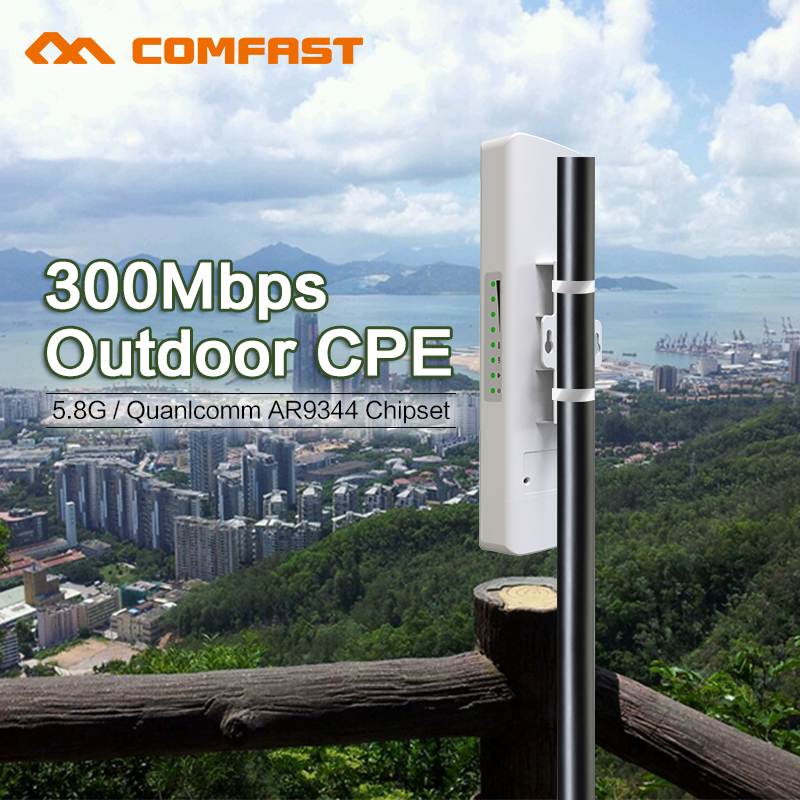 Comfast Cf E312a 5 8g Wireless Outdoor Cpe Poe Wi Fi Access Point Antenna Wi Fi Router 300m