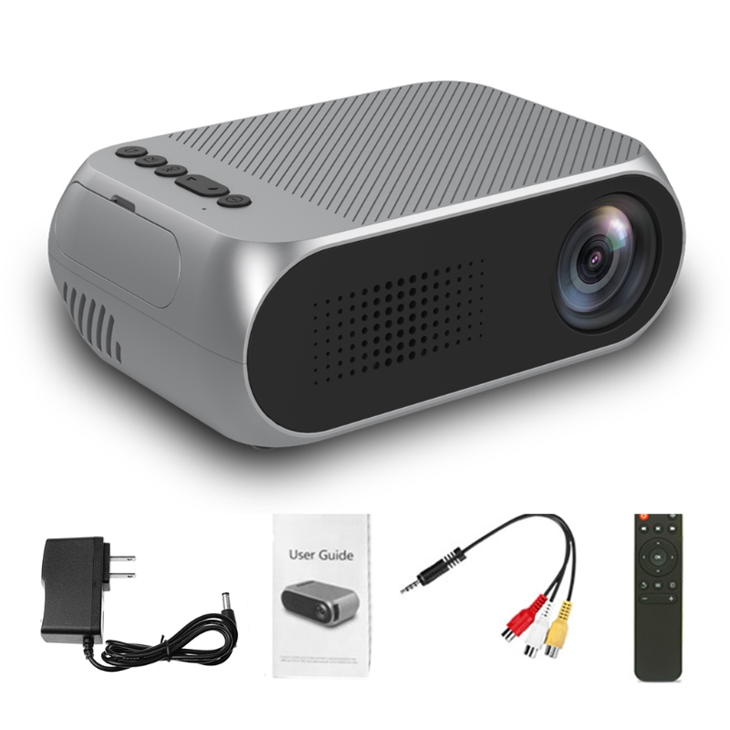 Video Conference System Mini Projector 1080P HD Home Multimedia Cinema Theater LED LCD Pocket US Plug new portable mini for home cinema theater 720p hd multimedia led lcd projectors hdmi av tv vga sd uk eu au plug
