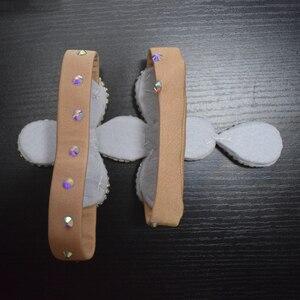Image 5 - Femmes accessoires de danse du ventre pierres senior anneau de pied strass accessoires de danse du ventre anneau de pied filles accessoires de danse
