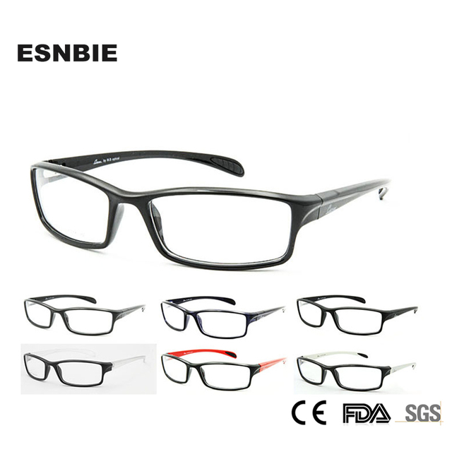 ESNBIE Men Accessories TR90 Frame 6 Base German Eyeglasses Frames ...