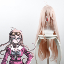 Danganronpa V3 Killing Harmony Iruma Miu Cosplay Wig Long Wavy Straight