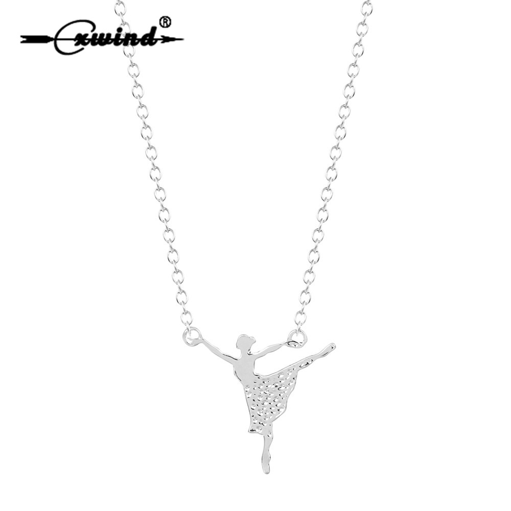 Buy ballet necklace and get free shipping on AliExpress.com 2ba183df2a3a