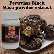1 lot = 2 bottles Peruvian black Maca root extracts powder organic MACA tablets male health supplement
