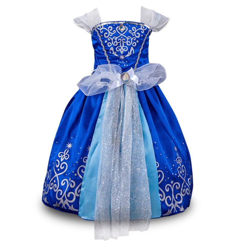 New baby Girls dresses Princess,Vestidos, Christmas Cosplay Costume,girls party dress,baby Girls Clothes,Free shipping 0 12month baby girls