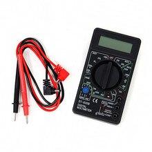 Ac/dc ом электрическое амперметр мультиметр вольтметр метр тестер профессиональный цифровой