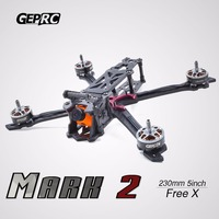 GEPRC Mark 2 5 inch 230mm FPV Racing Drone Carbon Fiber Frame Kit Freestyle X Quadcopter 4mm Arm GEP 5 FPV quadcopter