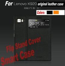 В наличии оригинальный флип стенд смарт Wake Up/сна Обложка для K920 кожаный чехол для Lenovo Z2 Pro K920 ультра-тонкий телефон сумка САППУ