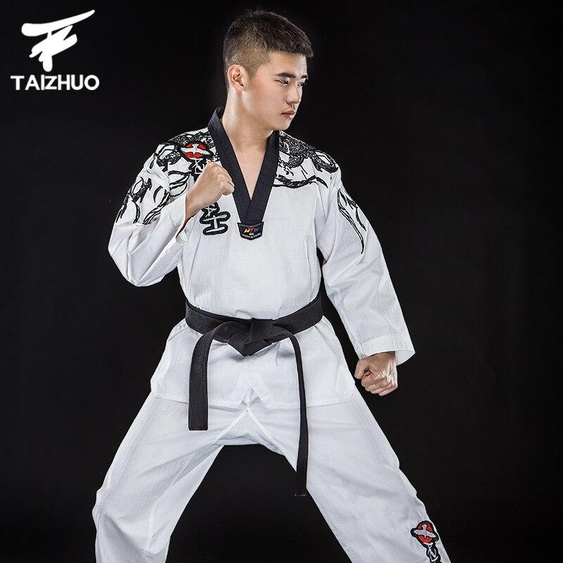 WTF dobok child adult MOOTO ITF suit Taekwondo uniform Karate clothes size