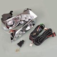 2 Pcs 12V 55W H3 Fog Light Lamps For LAND CRUISER PRADO FJ120 2003 2004 2005 2006 2007 2008 2009 [QP277]