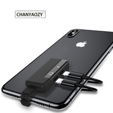цена на Audio Adapter for apple Charging Call for iphone 6 6S X 8 7 Plus XS MAX XR Original Headphone AUX Adapter Connector