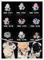 100 pcs 3D Série Flores Moda Jóias Pedrinhas Gemas Liga Metálica Em Forma de Diamante Da Arte Do Prego Decoração de Telefone Celular Por Atacado