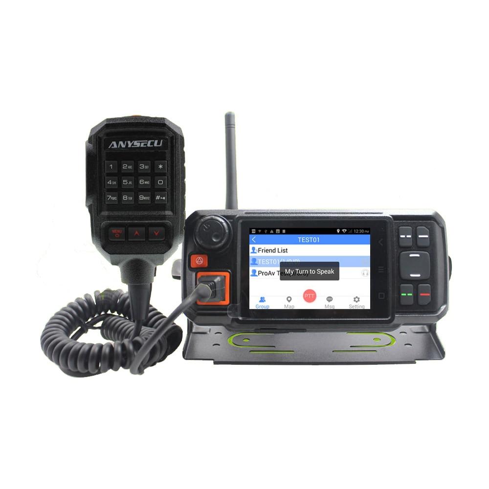4G Android Network Transceiver GPS Walkie Talkie SOS Radio 4G POC Mobile Radio Anysecu N60plus Android Car Movile Radio