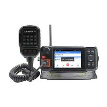 4G Android réseau émetteur récepteur GPS talkie walkie SOS Radio 4G W2 plus POC Radio mobile Anysecu N60 plus Android voiture mobile Radio