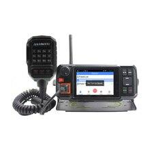 Rádio móvel do movimento do carro de anysecu n60plus do andróide rádio 4g poc do sos do walkie talkie do transceptor da rede de 4g android