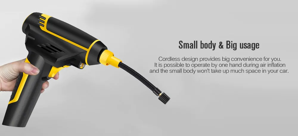 Car Cordless tyre Inflatable pump