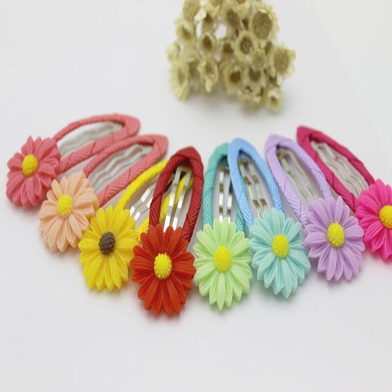 1 small fresh and sweet cute children hairpin girls new hair accessories hairpin BB clip sunflower flower headdress in Hair Accessories from Mother Kids
