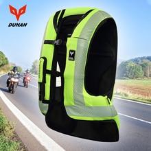 Духан мотоцикл воздушная сумка жилет мотоциклетный жилет Advanced Air bag системы Защитное снаряжение Светоотражающие Мотоцикл Airbag Moto жилет #