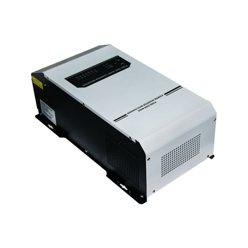 цена на New model 1kW 24V 220vac/240vac DC to AC UPS power inverter pure sine wave off grid solar inverter built in battery charger