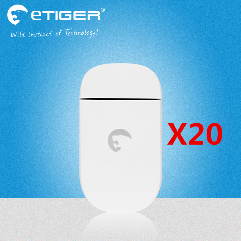Free Shipping Wholesale price 20PCS 433Mhz Wireless door/magnetic sensor for S4 GSM alarm system ES-D3C lowest price 2017 super price maxidiag md801 code reader scanner for obd1 obdii protocol free shipping