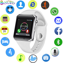 LIGE Bluetooth Digital Smart Watch Men Sport Pedometer SIM Card Camera Large Capacity Battery for Android +Box