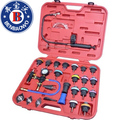 27pcs Cooling System Radiator Pressure Tester Kit w/ Coolant Purge/Refill Adapter