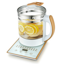 Electric kettle Curing pot Fully automatic thickened glass tea with multi-function flower teapot