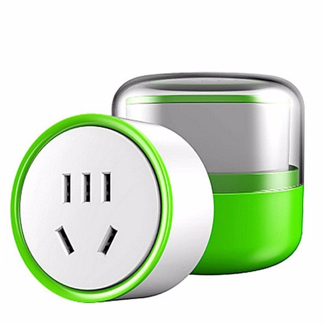 Inteligente wifi enchufe au mini interruptor de control remoto inalámbrico by phone app uesing au plug estilo blanco