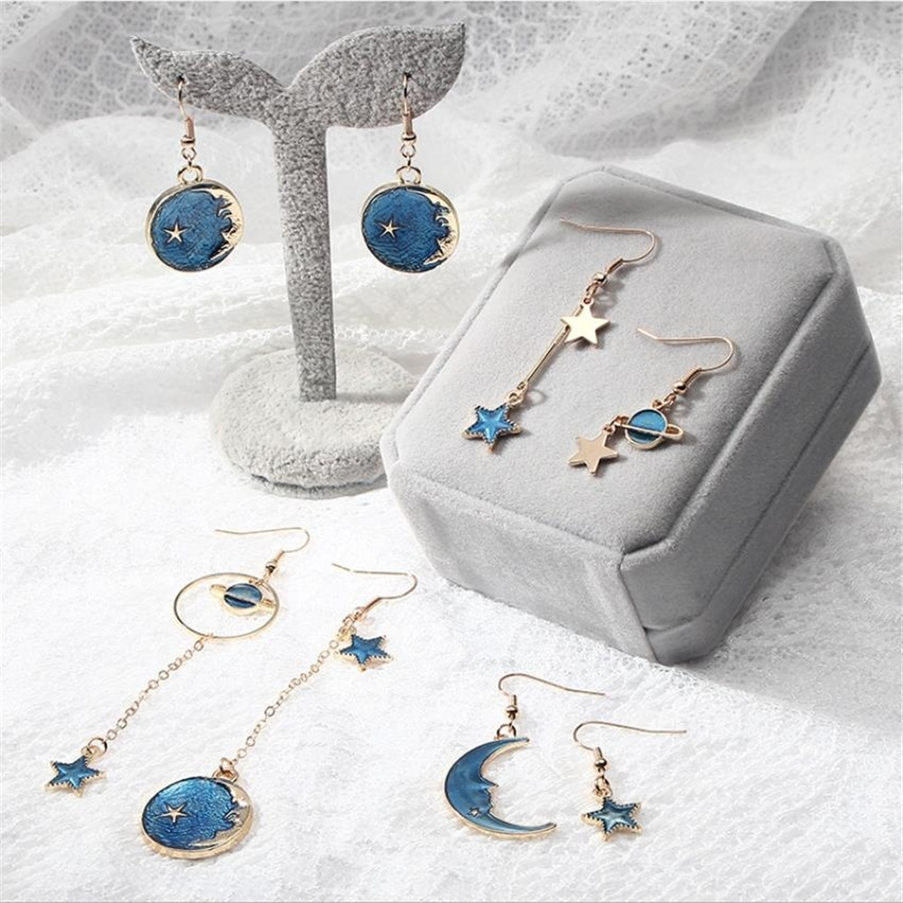 Symphony Natural Turquoise Silver Stud Clip On Earrings
