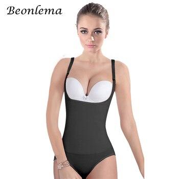 026b581c8a2c Bodys moldeadores de cuerpo Beonlema para mujer Cinta Modeladora moldeadora  cintura de látex Shapewears corsé Sexy adelgazante ropa interior cintura