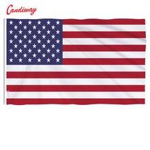 90x60cm américa poliéster a bandeira dos estados unidos nos eua estrelas listrar decoração interior n004