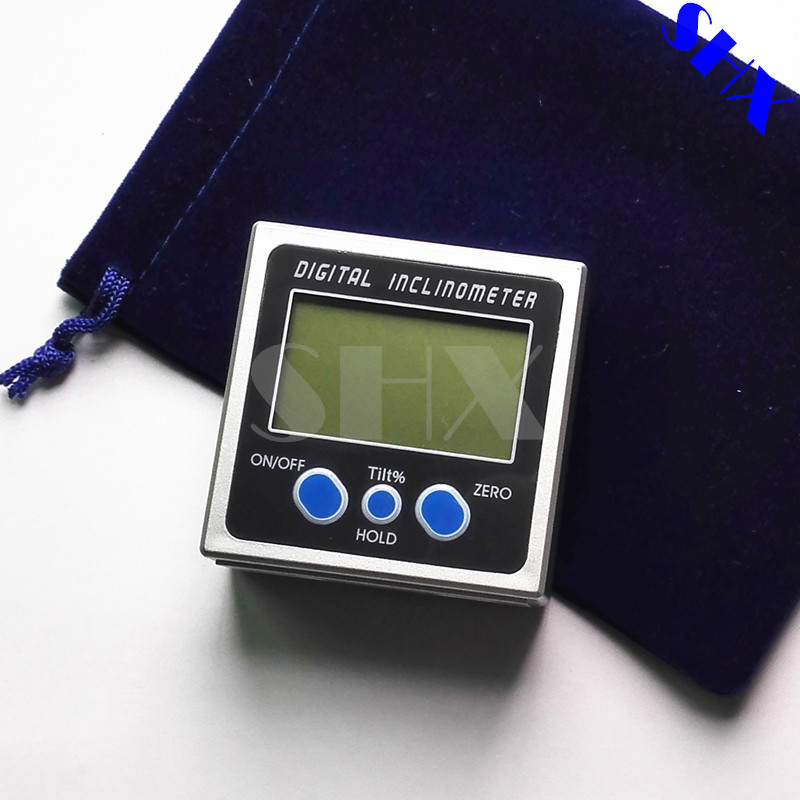 цены  Digital Protractor Inclinometer Level Box Level Measuring Tool Electronic Angle Meter Angle Finder Angle Gauge Magnetic Base