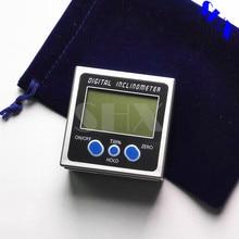 Digital Inclinómetro Del Prolongador Nivel Caja de Herramientas De Medición Electrónico Medidor de Ángulo Ángulo de Ángulo Buscador Base Magnética