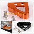 Step Plate For KTM Brake Pedal Lever 125 200 250 300 380 400 520 EXC MXC SX XC 125-530cc