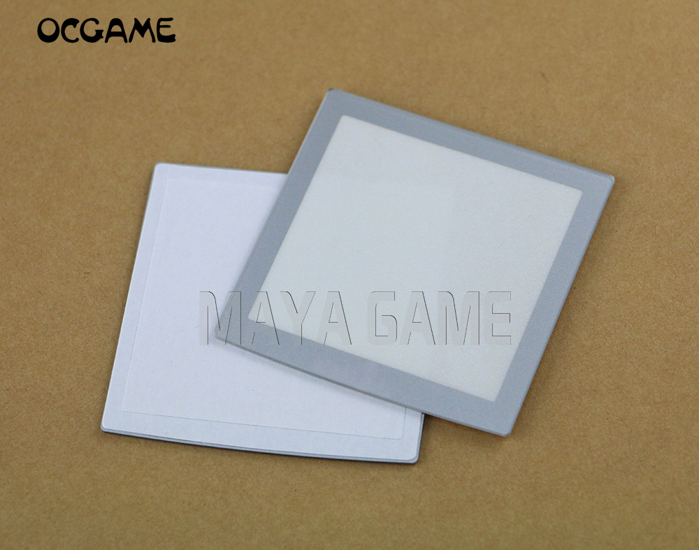 OCGAME 5pcs/lot For NGP Neo Geo Lens Protector Plastic For NeoGeo Pocket Silver LCD Protective Screen Lens(China)