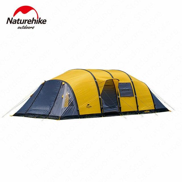 Naturehike Wormgat Serie Camping Tent 3 8 Personen Familie Tent Ademend Waterdicht Opblaasbare Tent Outdoor Reizen Tent