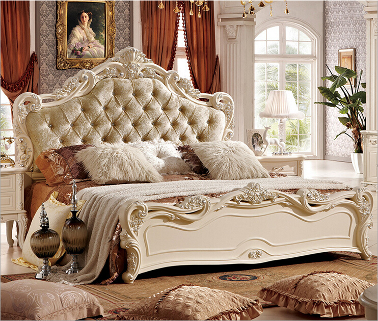 Bed With Classical Style Good Quality