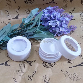 30mm Eyeshadow Plastic Bottle Packaging For Eye shadow Case Plastic Jar Cosmetic Containers Makeup Storage Box F968