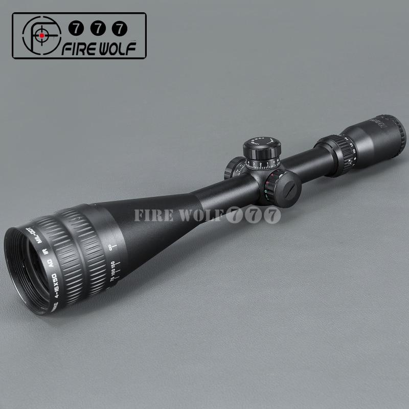 Sport 4-16x50 AOE Riflescope R&G illuminated Riflescope Reticle Rifle sniper Scope for hunting hawke sport 3 12x50 aoe riflescope r