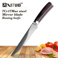 XITUO 6 Inch Kitchen Knife Sharp Stainless Steel Fish Boning Knife Sashimi Filleting Santoku Knives Cleaver