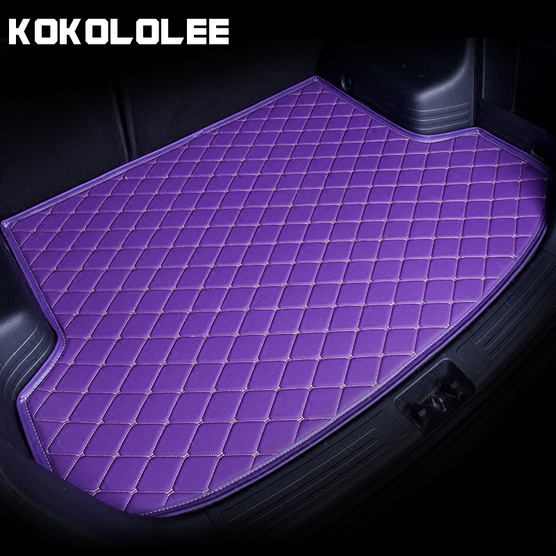 [KOKOLOLEE] Custom Car Trunk Mat for Volkswagen 4 5 6 7 vw passat b5 b6 b7 polo golf mk4 tiguan auto accessories car-styling стоимость
