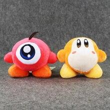14 CM JP Anime Kirby Soilder Waddle Dee Waddle Doo Cute Stuffee Plush Toys Stuffed Dolls
