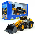 KAIDIWEI 1:50 Scale Engineering Vehicle Model Four Wheel Loader Forklift  Heavy Forklift Toy Car