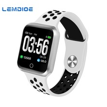LEMDIOE Smart Watch Men Women Multiple Sport Modes Bluetooth  IP67 Waterproof Heart Rate Monitor Blood  Pressure Smartwatch