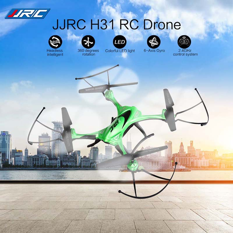 JJRC H31 RC Drone Dron 2.4GHz 4CH Waterproof Quadcopter Headless Mode Flying Helicopter One Key Return Copter LCD Display Drones цена 2017